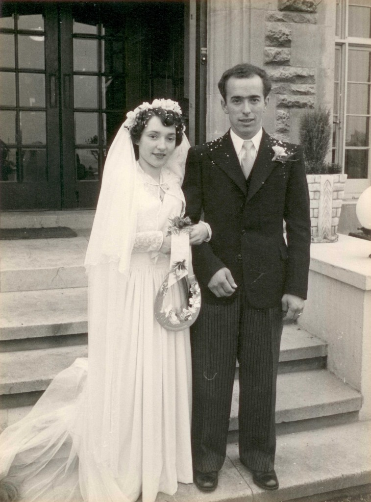 Gloria and Edward Ryde, Isle of Wight, 4th October 1950