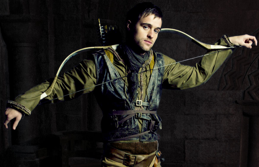 Jonas Armstrong as Robin Hood Photo: Paul Postle for Tiger Aspect